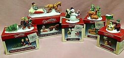 Dickensvale Lemax 1991 Lot 5 Porcelain Collectible Christmas Figurines