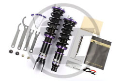 D2 Racing Adjustable Coilovers Suspension For Bmw E46 3-series Awd 1999-2005