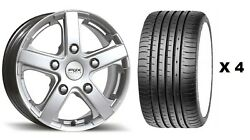 18 S Viper 1 Alloy Wheels + Xl Tyre Ford Transit Tourneo Rated 1250kg 5x160