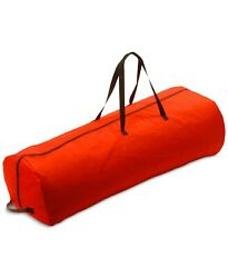 National Tree Company Large 7.5-ft Red Tree Storage Bag With Wheels C555