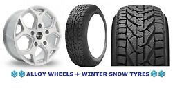 18 S Viper 4 Alloy Wheels + Snow Tyre Ford Transit Tourneo Rated 1250kg 5x160