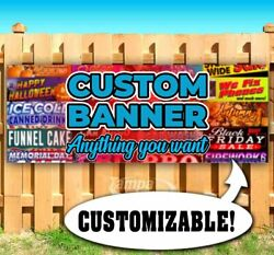 Custom Banner Anything You Want Advertising Vinyl Banner Flag Sign Many Sizes