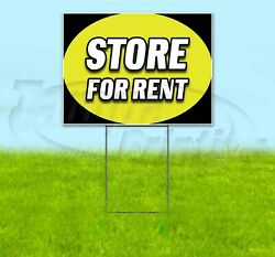 Store For Rent 18x24 Yard Sign With Stake Corrugated Bandit Usa Business Lease
