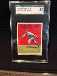1915 Cracker Jack 54 Martin Oand039toole Sgc 88 Nm/mt 8 Extremely Rare Condition