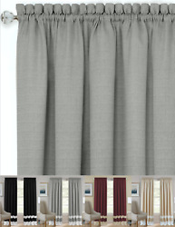 Shabby Linen Farmhouse Sheer Flax Window Curtains - Assorted Colors And Styles