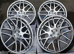 19 Silver Riva Dtm Alloy Wheels Fit Land Range Rover Discovery Sport Bmw X5 E53