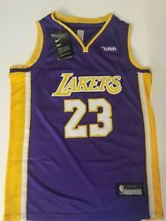 LeBron James - Los Angeles Lakers  - Youth & Teen Jerseys - Purple - New