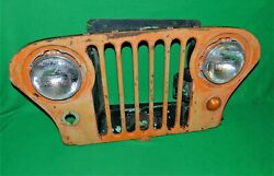 🔥 1945 1946 1947 1948 1949 Willys Ford Kaiser Jeep Grill M38 M38a1 7 Slot Grill