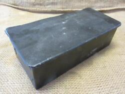 Vintage Tractor Toolbox Antique Old Iron Tool Box Farm Equipment 9988