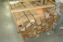 Huge Lot Of Kimble Glass Rods Over 2,000 Pieces 1/2 Dia X 60 Long [whse]