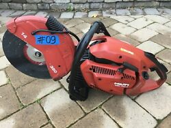 Hilti Dsh 700-x Gas Saw ,for Parts Only, Not Working, 09, Fast Ship