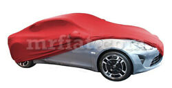 Alpine A110 Red Indoor Fabric Car Cover W/ Mirror Pockets 2017-19 New