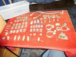 Ford Thunderbird 1961 1962 1963 Oem Molding And Misc. Hardware Lot Look At 12 Pics