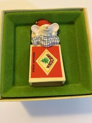Hallmark Tree Trimmers (1979) Mouse In Matchbox