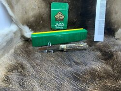 Pre 1964 Vintage 943 Jagdmesser Knife With Stag Handles Mint Factory Box