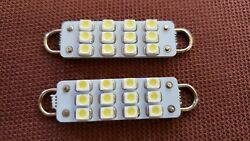 44mm White Led Bulbs 1.75 Interior Dome Map Courtesy Dash Lights Interior Lamps