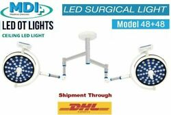 Lamp Surgical Operating Double Satellite Ceiling Ot Light Operation Theater Li