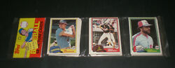 1981 Topps Baseball Cards Rack Pack - Dave Winfield Top Card