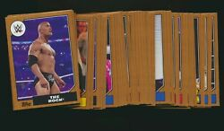 2017 Topps Heritage WWE Bronze Border Parallel Pick from List Qty Discount