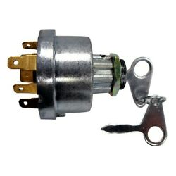 Ford 2000 3000 4000 5000 2600 3600 4600 Tractor Key Switch Replaces E7nn11n501ab