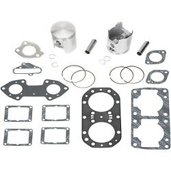 Wiseco Top End Kit 1.50mm Oversize 77.50mm For Kawi Jf650ts Js650sx Jl650 Wk1019