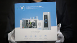Ring Video Doorbell Pro With Chime Pro Boxed - 'the Masked Man'