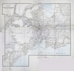 Map Of The South Ussuri Territory And The Border Regions Of Manchuria And Korea