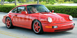 For Porsche 911 F-model Red Indoor Fabric Car Cover 1968-74 New