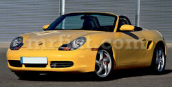 For Porsche Boxster 986 Red Indoor Fabric Car Cover 1996-04 New