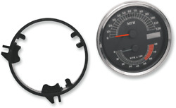 Drag Electronic Speedo And Tachometer Combo Mph Gauge Harley Softail Fxdwg Flhr