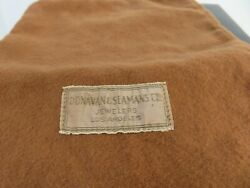Vintage Donavan And Sfamans And Co Of Los Angeles Anti Tarnish Pouch 12 1/4 X 6