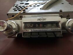 1962 Chevy Impala Deluxe Push Button Radio Chevrolet Am 7280203-a Tested