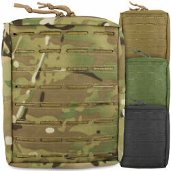 Bulldog Laser Molle Large Upright Military Tactical Multipurpose Utility Pouch