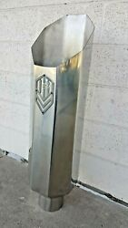 Offroad Arsenal 5 In 8 Out 36 Octagon Diesel Semi Exhaust Stack Miter Polished