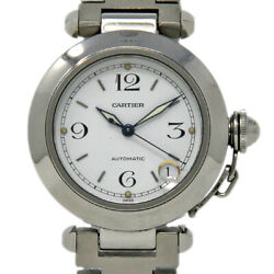 Pasha Automatic W31015m7 35mm Stainless Steel White Box/paper/wty 903