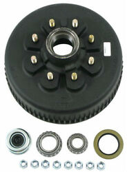 Dexter 8-285-11uc3 Complete E-z Lube Hub And Drum Assembly - 8 On 6-1/2