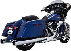 Vance And Hines Power Duals Header Systems Chrome P-dual - Chrome 16871