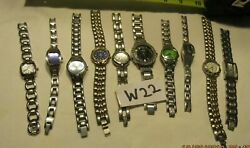 Watch Lot Of 10 Fossil Ladies Watches All Are Working Lot W22