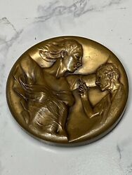 Brookgreen Gardens Medal 1999 Working With Wind On The Water By Richard Miller