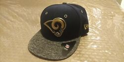 2016 Draft Hat Los Angeles Rams Nfl Authentic New Era 59fifty Fitted Cap 6 3/8