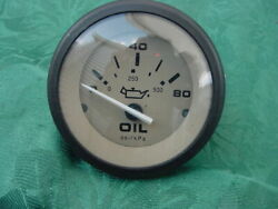 Sea Ray Boat Oil Pressure Guage 1088731 1998 180 With Bracket See Pictures