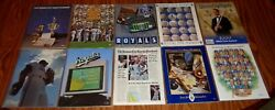 10 Different Kansas City Royals 1990 To 1999 Year Books