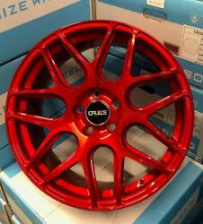 Alloy Wheels 18 Cruize Cr1 Candy Red Fit For Renault Megane R26