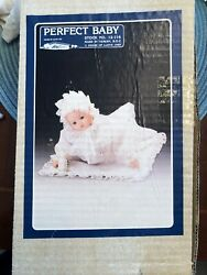 House Of Lloyd 1989 Musical Porcelain Perfect Baby 12-116 -- Pre-owned