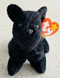 Ty Beanie Babies SCOTTIE the Scottish Terrier 1996 PVC Pellets Tag Errors