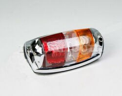 Mercedes 220 Se 220 S Complete Chromed Red Clear Amber Tail Light New