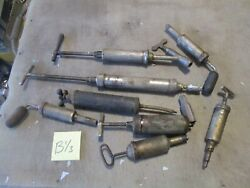 Lot Of Antique Grease Guns For Automotive Use, Antique Mechanics Tools
