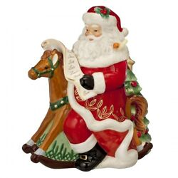 New In The Box Waterford Holiday Heirlooms Nostalgic Rocking Horse Santa Cookie