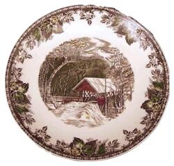 Johnson Brothers The Friendly Village 12 1/8 Round Cake Plate Made In England