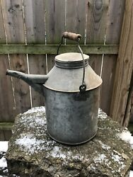 Norfolk And Western Railway Railroad 13 Oil Can Embossed Nandwry Galvanized